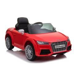 AUDI - Auto A Batería 12V Rojo