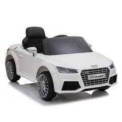 AUDI - Auto A Batería 12V Blanco