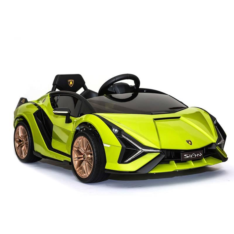 LAMBORGHINI - Auto A Batería 12V RC Sian Verde