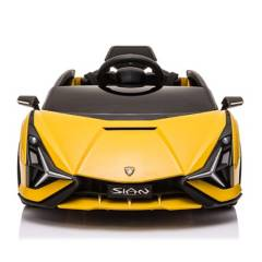 LAMBORGHINI - Auto A Batería 12V RC Sian Amarillo