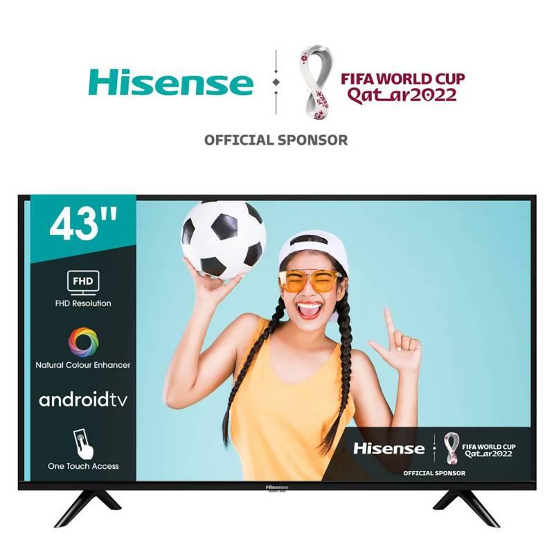 """HISENSE - LED 43"""" 43E5610 Full HD Android Smart TV"""