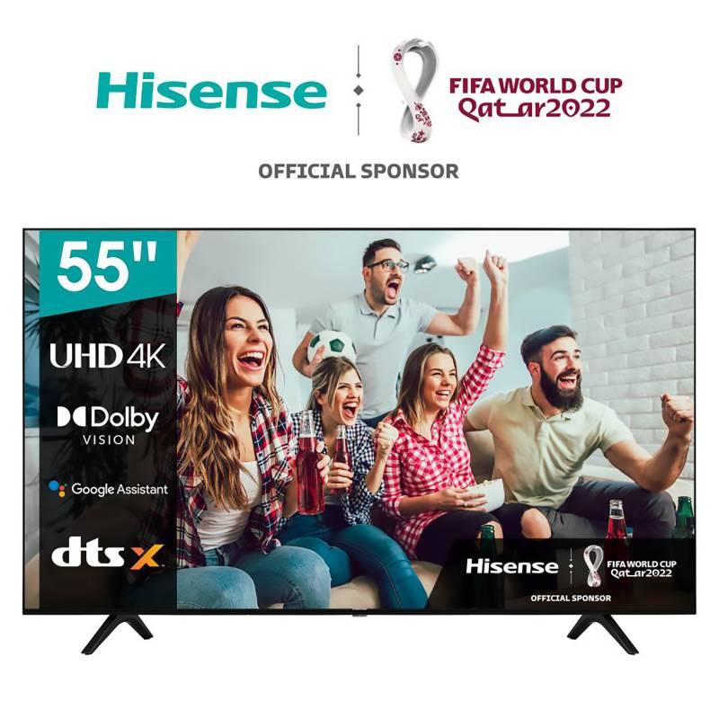 "HISENSE - LED 55"" 55A6GSA 4K HDR Android Smart TV"