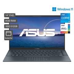ASUS - Zenbook 14 UX425 Core i5 11a Gen 14'' FHD 512GB SSD 8GB RAM