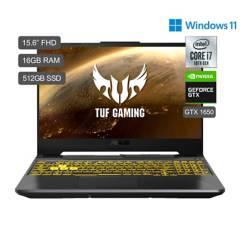 ASUS - TUF Gaming F15 FX506 Core i7 15.6'' FHD IPS 512GB SSD 16GB RAM