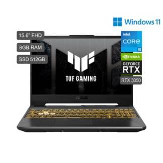 ASUS - TUF Gaming F15 FX506 Core i5 15.6'' FHD IPS 512GB SSD 8GB RAM 4GB RTX3050