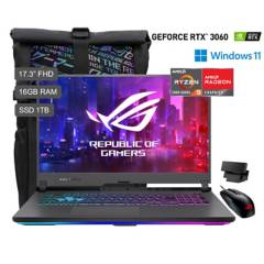 ASUS - ROG Strix G17 G713 Ryzen 9 5900HX 17.3'' FHD IPS 1TB SSD 16GB RAM 6GB RTX3060