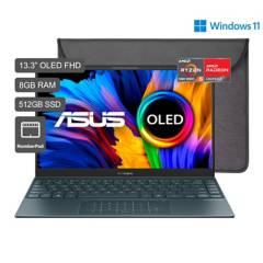 ASUS - ZenBook 13 OLED UM325 Ryzen 5 13.3'' FHD 512GB SSD 8GB RAM