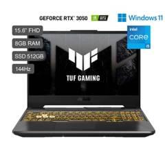 ASUS - TUF Gaming F15 FX506 Core i5 11a 15.6'' FHD IPS 512GB SSD 8GB RAM RTX3050 4GB