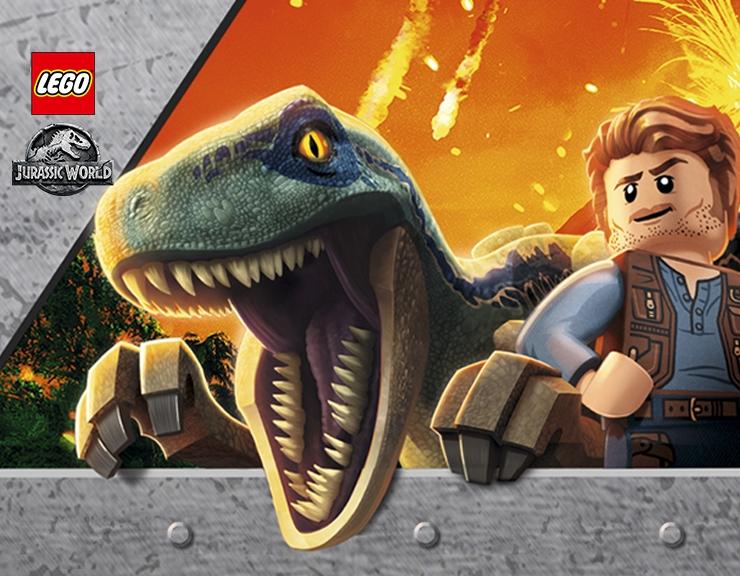 2 Park De Juguetes Jurassic Lego CBxrdoe