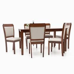 Juego de Comedor De Vinci 6 sillas