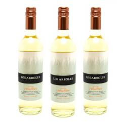 NAVARRO CORREAS - Pack x3 Vino Los Arboles Chardonnay 750 ml