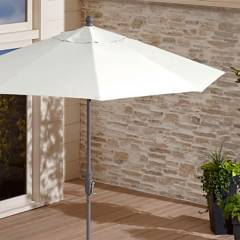 undefined - 9' Rnd Umbrella Cvr white sand