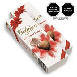 BELGIAN - Pack x2 Belgian Chocolate Hearts