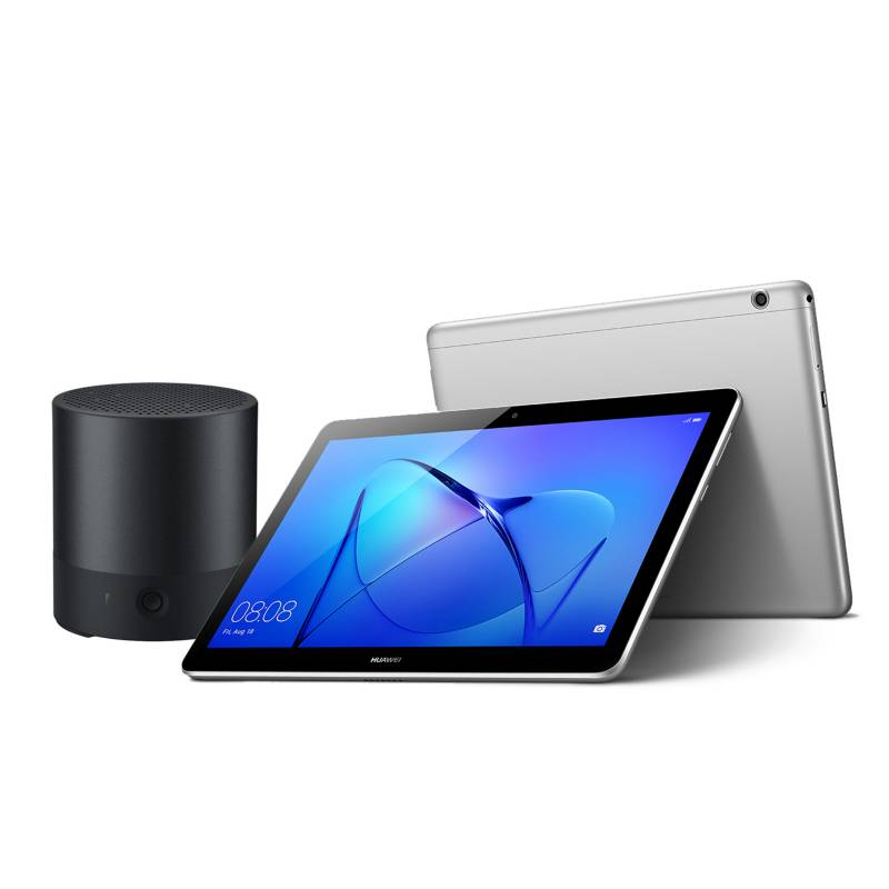 """HUAWEI -  Tablet T3 10"""" Grey + Parlante CM510 Negro"""