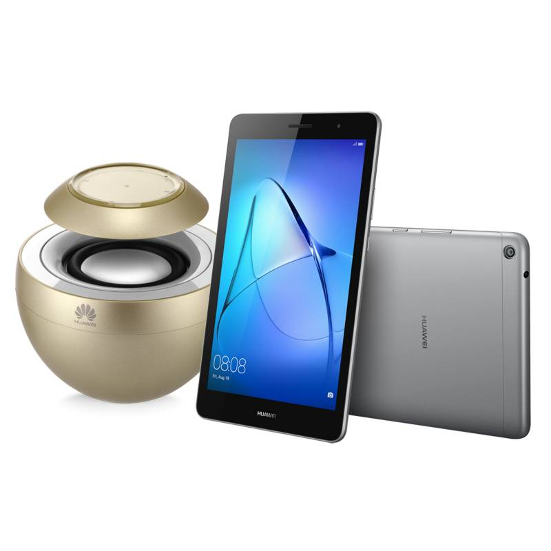 """HUAWEI - Tablet T3 8"""" WiFi  + Parlante Bluetooth AM08"""