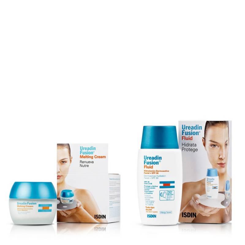 ISDIN - Pack Ureadin Fusion Fluid SPF30 50 ml + Ureadin Fusion Melting Cream 50 ml