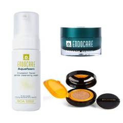 CANTABRIA LABS - Pack Endocare + Cushion Compact Heliocare Beige