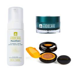 CANTABRIA LABS - Pack Endocare + Cushion Compact Heliocare Bronze