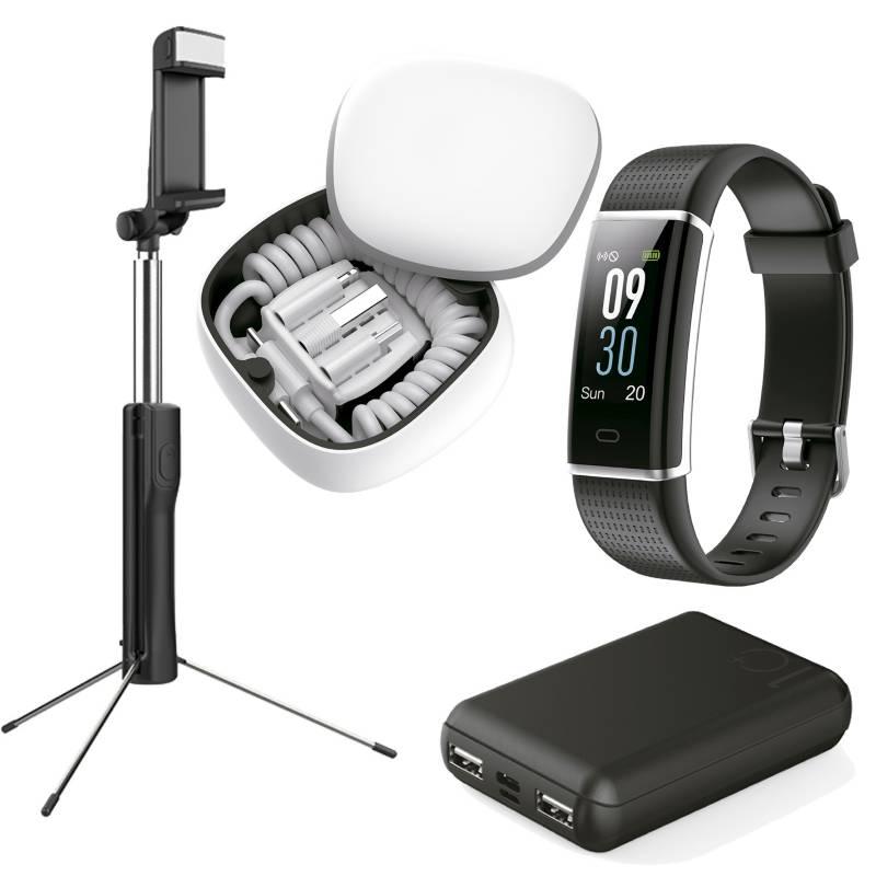 KUZLER - Combo Influencer (POP BOX + Smartband + SelfieSticktripode + Powerbank)