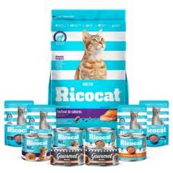 RICOCAT - Pack Ricocat Festival De Sabores x 15 Kg
