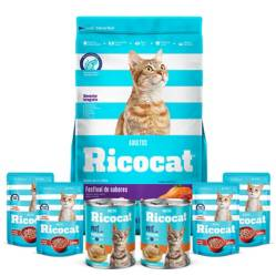 RICOCAT - Pack Ricocat Festival de Sabores 9Kg