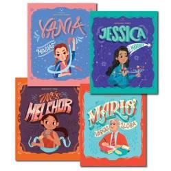 EDICIONES PICHONCITO - Pack x 4 Peruanos Power