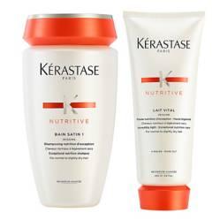KERASTASE - Rutina Nutritive para cabello normal a seco