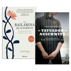 PLANETA - Pack El Tatuador de Auschwitz + La Bailarina de Auschwitz