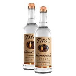 TITOS - Pack x 2 Vodka Tito's 750ml