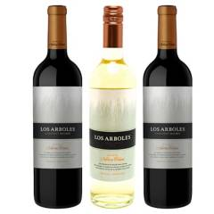 NAVARRO CORREAS - Pack x3 Vino Los Arboles MMC 750 ml