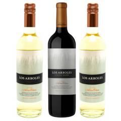 NAVARRO CORREAS - Pack x3 Vino Los Arboles MCC 750 ml