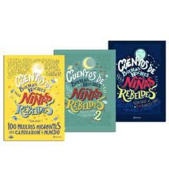 PLANETA - Pack x3 Cuentos de Buenas Noches para Niñas Rebeldes