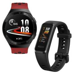 HUAWEI - Huawei Watch Gt 2e B19r Red + Huawei Band 4 Promocional