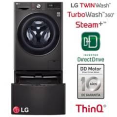 LG - Combo: Lavaseca LG WD12BVC2S6C LG + Lavadora LG MiniWash WT2BM 2Kg LG