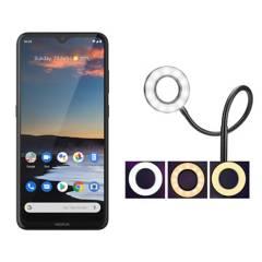 NOKIA - Nokia 5.3 Gris + Aro de Luz