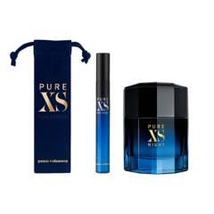 PACO RABANNE - Paco Rabanne Pure XS Night EDP 100 ml + Pure XS Travel Spray EDT 10 ml + Neceser