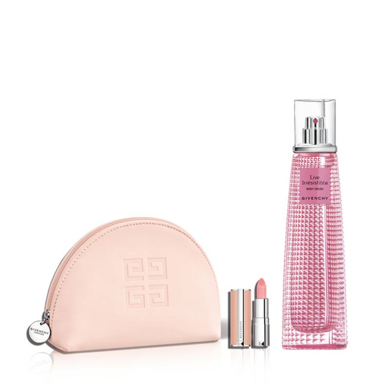 GIVENCHY - Live Rosy Crush 75ml + Le Rose Perfecto