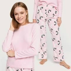 SYBILLA - Pijama de Polar Mujer