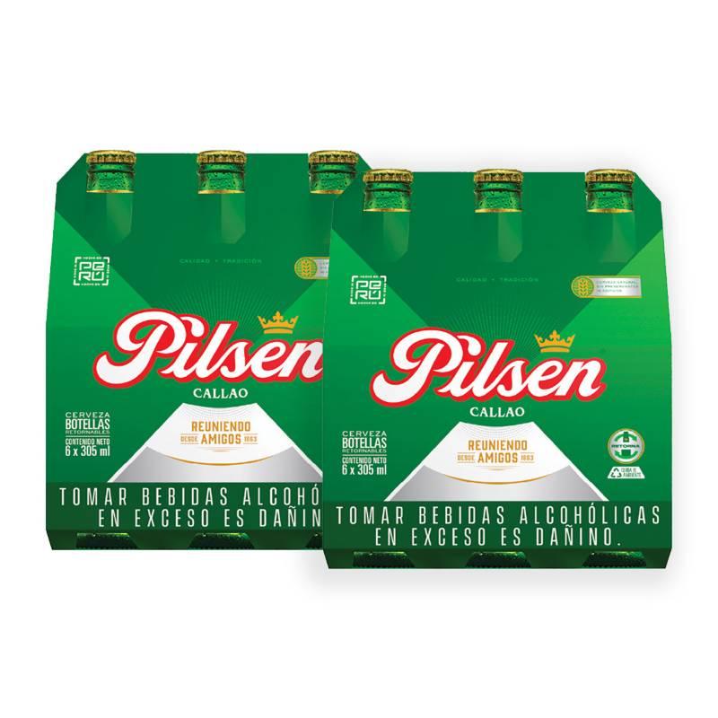 PILSEN CALLAO - Cerveza Pilsen Callao 12und x 305ml