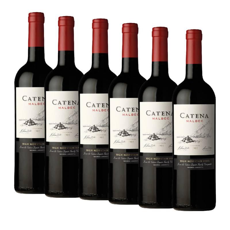 CATENA ZAPATA - Pack x6 Vino Catena Malbec 750ml