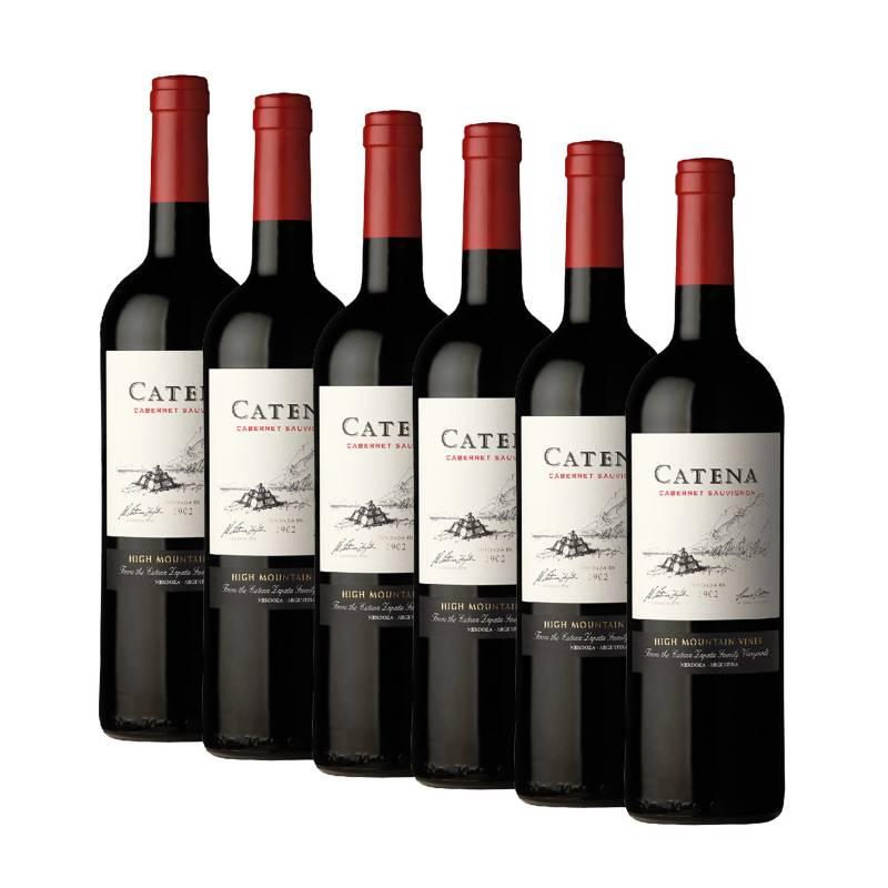 CATENA ZAPATA - Pack x6 Vino Catena Cabernet 750ml