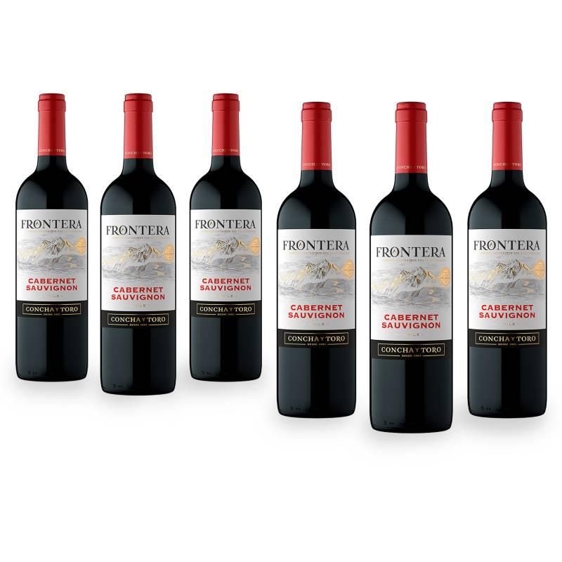 FRONTERA - Pack x6 Vino Frontera Cabernet Sauvignon 750ml