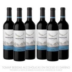 TRAPICHE - Pack x6 Vino Vineyards Malbec 750ml