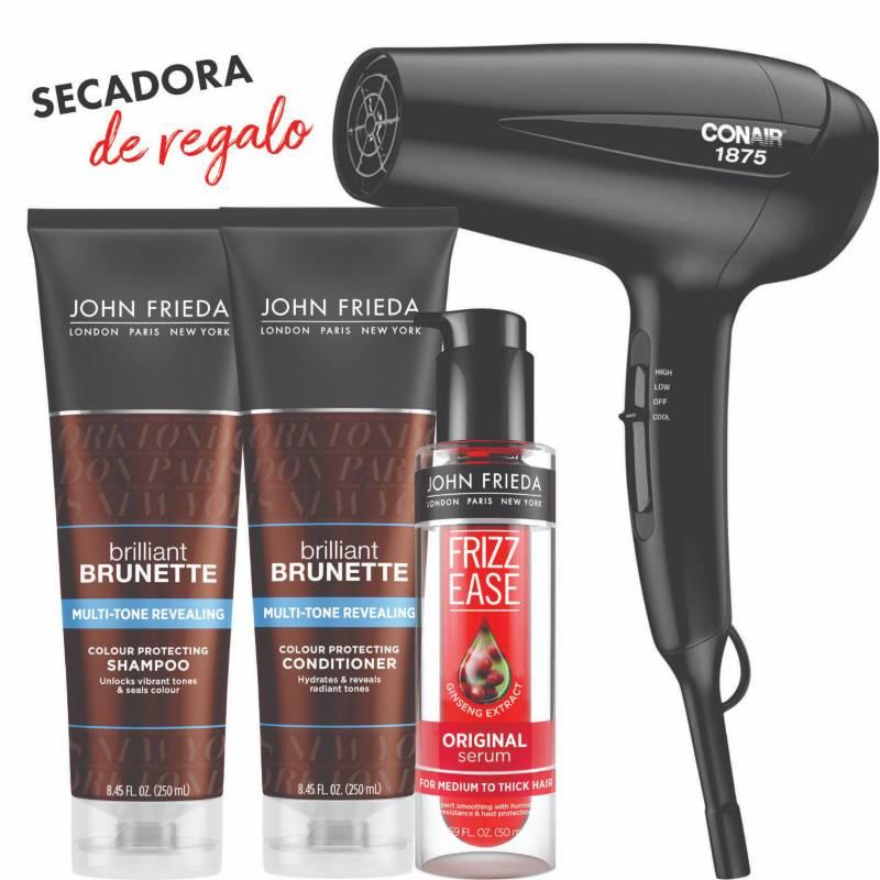 JOHN FRIEDA - JF BB Pack Moist Sh+Aco+Sr+Secadora