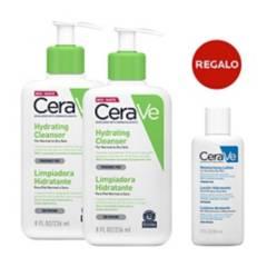 CERAVE - Dúo limpiadores hidratantes + regalo