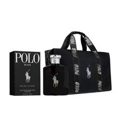 Ralph Lauren - Polo Black Hombre Edt 125 ml + Maletin