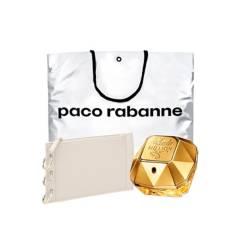 PACO RABANNE - Lady Million EDP 80 ml + Neceser para Mujer + Bolsa de regalo