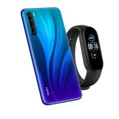 XIAOMI - Combo: Redmi Note 8 2021 Blue 128Gb + Xiaomi Mi Band 5 Pulsera Inteligente