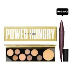 MAC - Paleta de sombras MAC Girls Power Hungry + Regalo delineador MAC Kajal Crayon tono Marsala