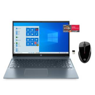 "HP - Combo: Laptop HP Pavilion 15-eh0011la AMD Ryzen 7 4700U 16GB 512GB SSD Full HD 15.6""+ Mouse HP 250 Inalámbrico"